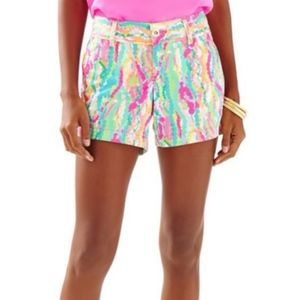 Lilly Pulitzer Dripping Jewels Callahan Shorts